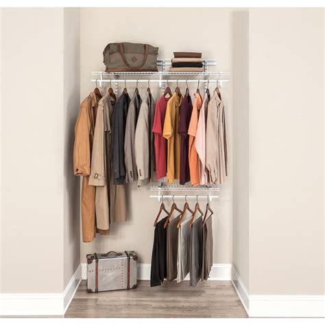 closetmaid shelftrack 2 ft to 4 ft white wire closet