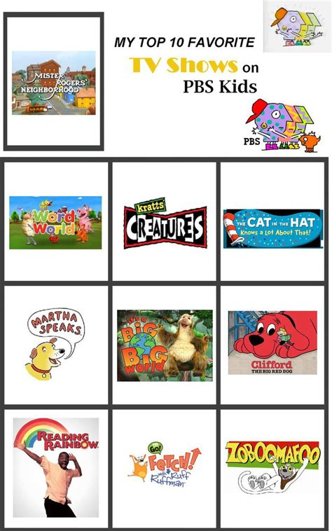 my top 10 favorite tv shows on pbs by foxprinceagain 315 | my top 10 favorite tv shows on pbs kids by foxprinceagain db4o7ep