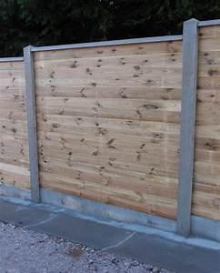Poteau Beton Cloture Bricomarche : planche emboitable avec les poteaux b ton atout clotures ~ Dailycaller-alerts.com Idées de Décoration