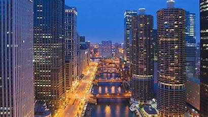 Chicago Downtown Illinois 1080p Wallpapers Usa Computer