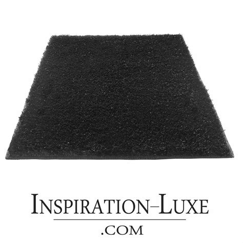 tapis de salle de bain de luxe noir
