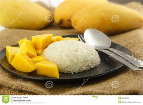 dessert tha 239 landais mangue fra 238 che avec du riz collant