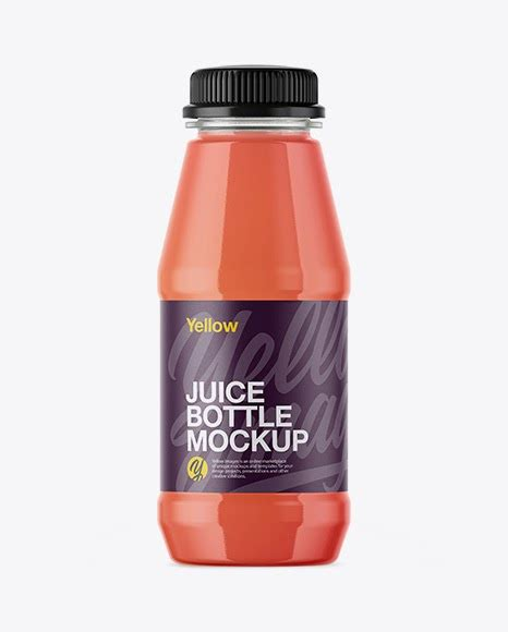 ✓ free for commercial use ✓ high quality images. Plastic Bottle With Grapefruit Juice PSD Mockup