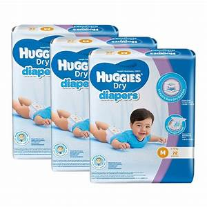 Huggies Dry Diapers M72 x 3 Super J (end 2/28/2020 12:37 AM)