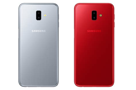 samsung galaxy j6 plus samsung galaxy j6 plus revealed with a side mounted fingerprint sensor