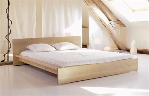 Massivholzbett Altai  Bett Von Sira