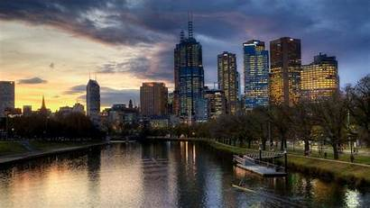 Melbourne Australia Buildings Grove Wallpapers