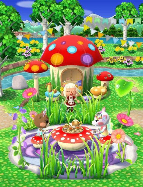 pocket camp mushroom garden animal crossing pc animal