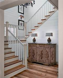 bright banisters mode other metro rustic staircase With kitchen colors with white cabinets with framed botanical wall art