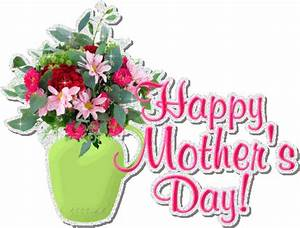 Beautiful Happy Mother's Day Glitter