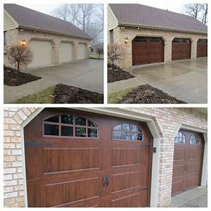 25 best ideas about carriage style garage doors on for Carriage style garage doors with windows