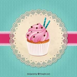 Delicious cupcake Vector | Free Download