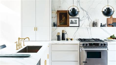 Kitchen Makeover 90s Kitchen Gets A Glamorous Update