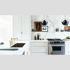 Kitchen Makeover 90s Kitchen Gets A Glamorous Update