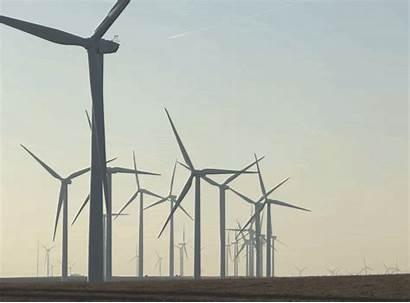 Wind Turbine Power Gifs Denmark Turbines Giphy