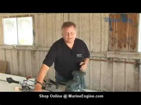 boat throttle  shift cable replacement youtube
