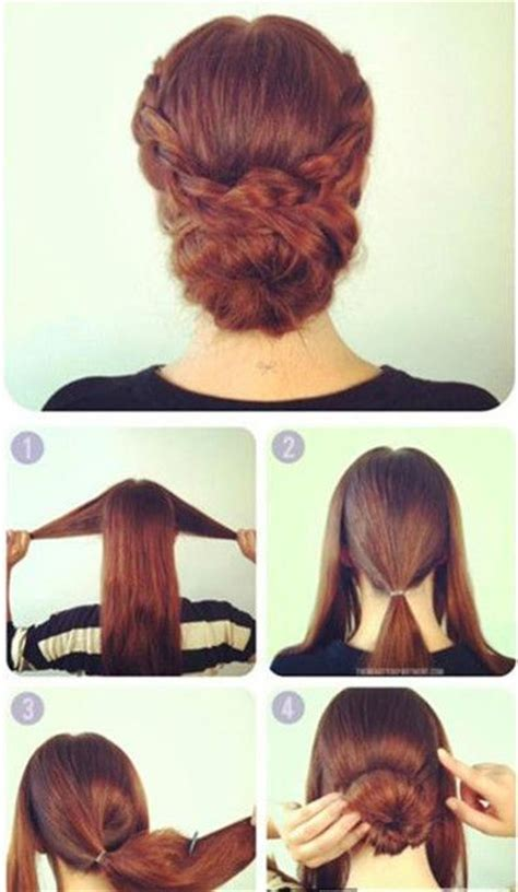simple updo hairstyles updo  simple updo  pinterest