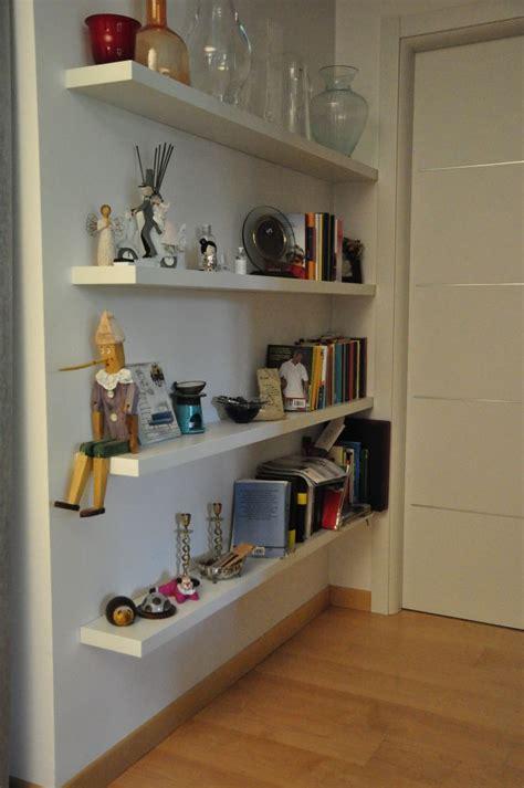 Mensole Bianche Laccate by Mensole Laccate In Legno Geppetto Falegname Verona