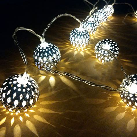 battery outdoor string lights 20 ball battery operated led fairy string lights garden
