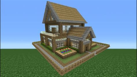 minecraft tutorial     small survival house  youtube