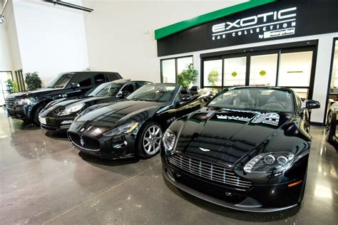 Live Luxe With The Enterprise Exotic Car Collection