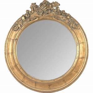 Miroir Doré Rond : miroir dor roses g ~ Teatrodelosmanantiales.com Idées de Décoration