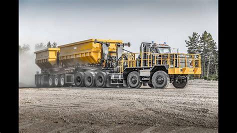 dramis dt kenworth    road mining