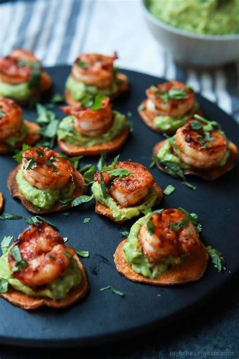 cajun shrimp guacamole bites easy healthy recipes using