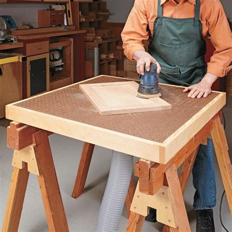 downdraft table plans  woodworking projects plans