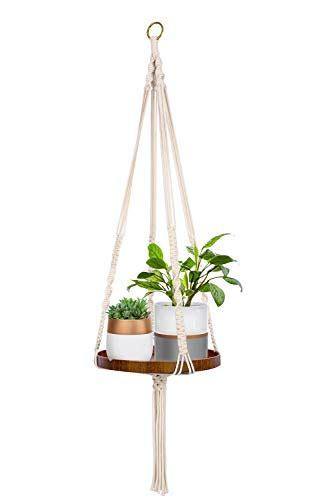 decorative plant hangers indoor timeyard macrame plant shelf hangers indoor hanging