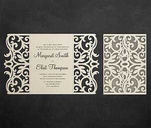 209 best laser cut wedding invitations images on pinterest With laser cut wedding invitations file