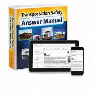Transportation Safety Answer Manual