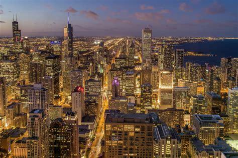 image libre batiment crepuscule metropole ville