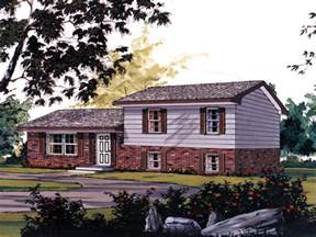 split level ranch hickory traditional home plan 001d 0065 house plans and more