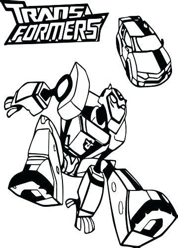 bumblebee transformer coloring page  getcoloringscom
