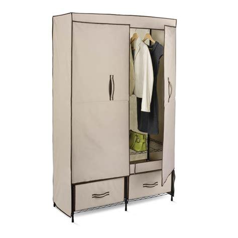 Honeycando Wrd01274 Tan 43 Inch Wide Double Door Cloth