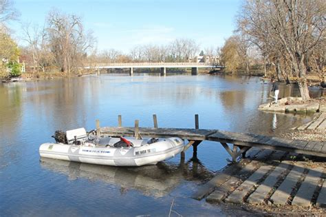 Round Lake Mi Boat Launch by Boat Launch Bond Street Niles St Joseph River