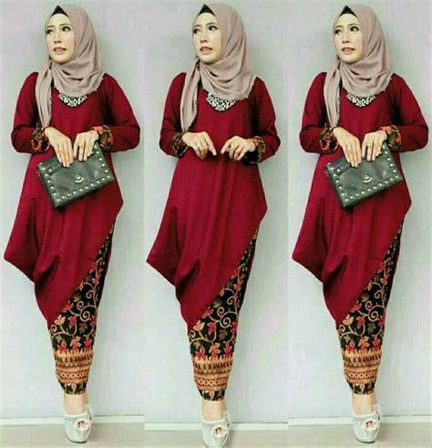 jual setelan batik kebaya wanita baju muslim kondangan