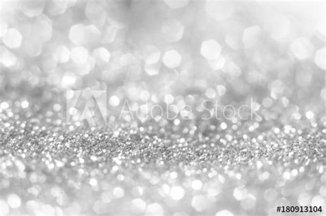abstract  bright  sparkling bokeh background silver  diamond dust bokeh blurred