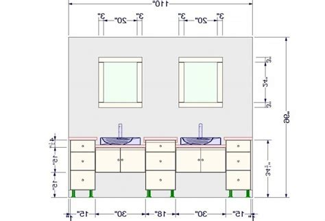 Bathroom Vanity Height With Regard To What Is The Standard