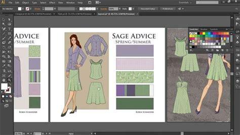 illustrator  fashion design drawing flats lyndacom
