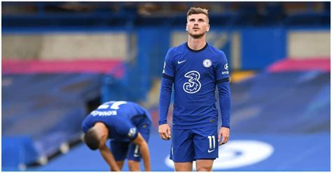Lampard insists he is 'not worried' about Timo Werner's ...