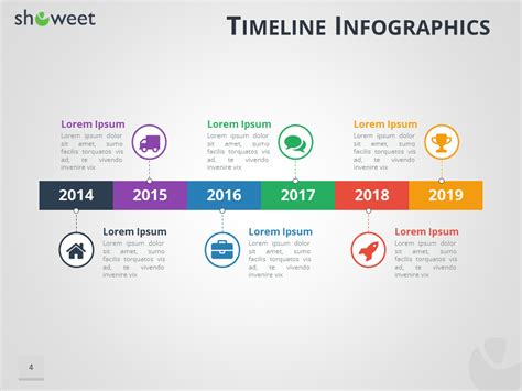 timeline powerpoint template timeline infographics