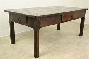 early french oak coffee table for sale at 1stdibs With oak coffee tables for sale