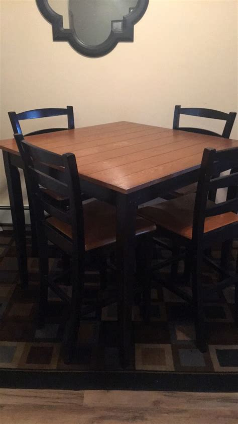 letgo bar type table and chair set in cornwall center pa