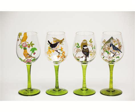 Home Interior Hummingbird Wine Glasses : Bird Serve Ware & Accessories