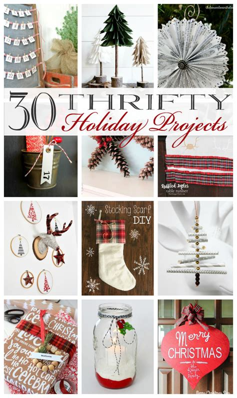 thrifty holiday projects confessions   serial