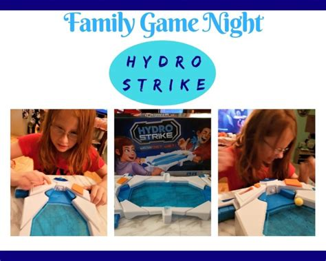 hydro strike family game night   splash