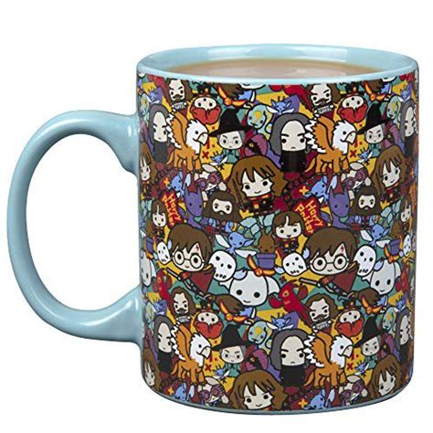 To a muggle, this is just a black coffee mug. Harry Potter Chibi Ceramic Coffee Mug - Harry Potter ...