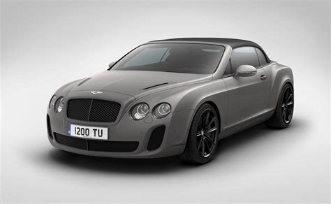 2018 Bentley Supersports Ice Speed Record Convertible